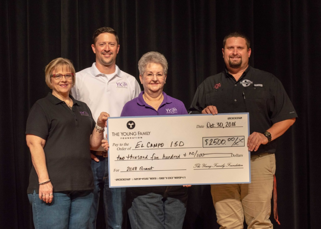 Local home security company gives back to El Campo, TX.