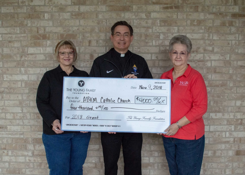YK Communications gives back to Ganado church.