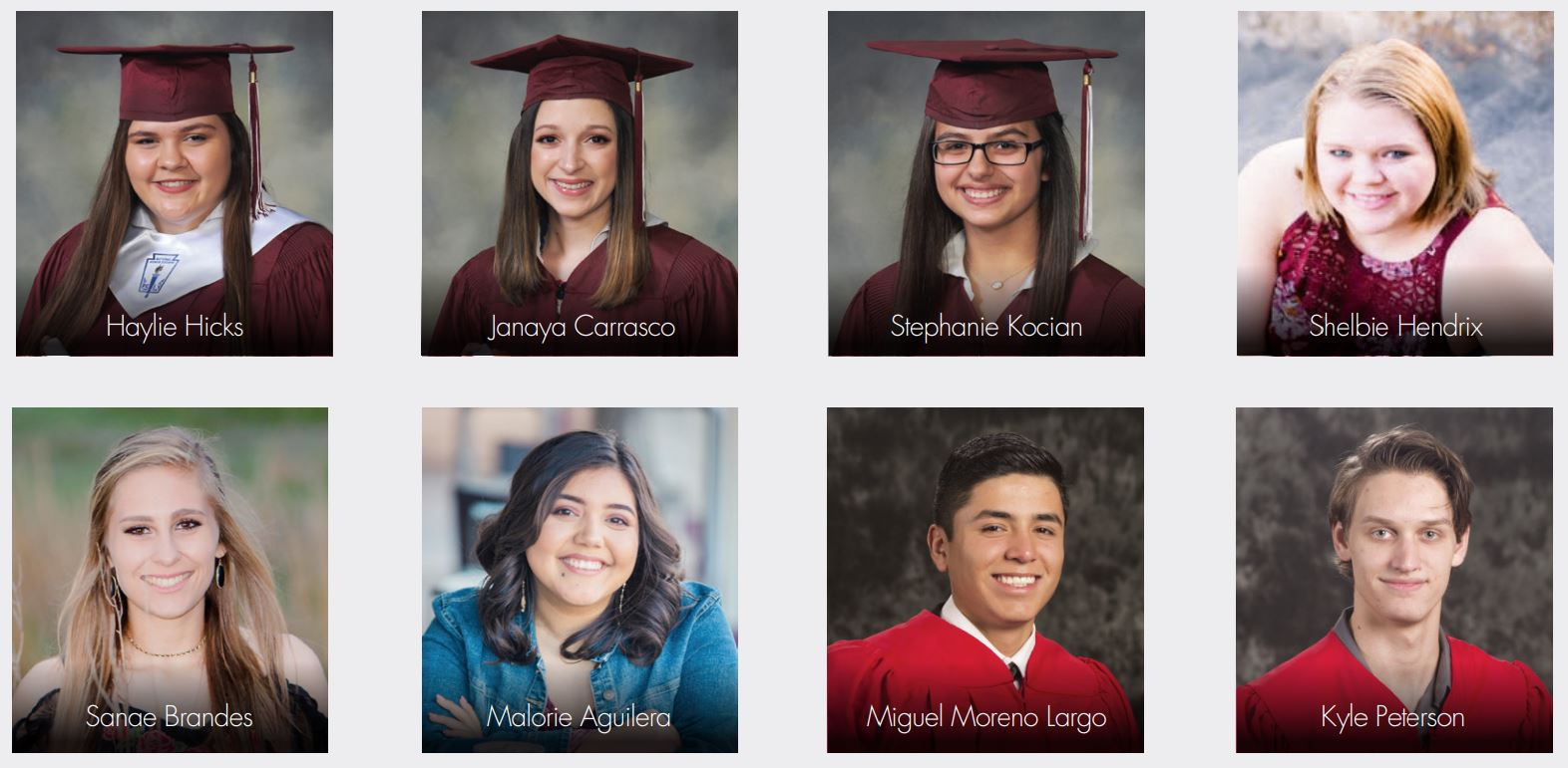 young family foundation scholarship recipients 2018