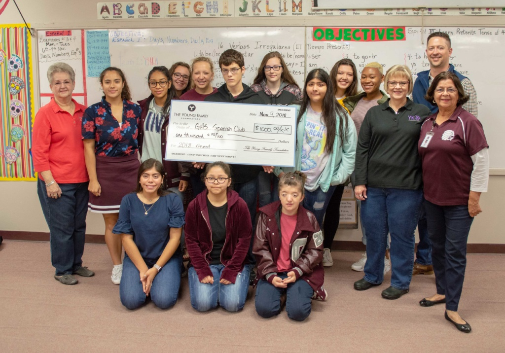 Local business gives back to Ganado schools.
