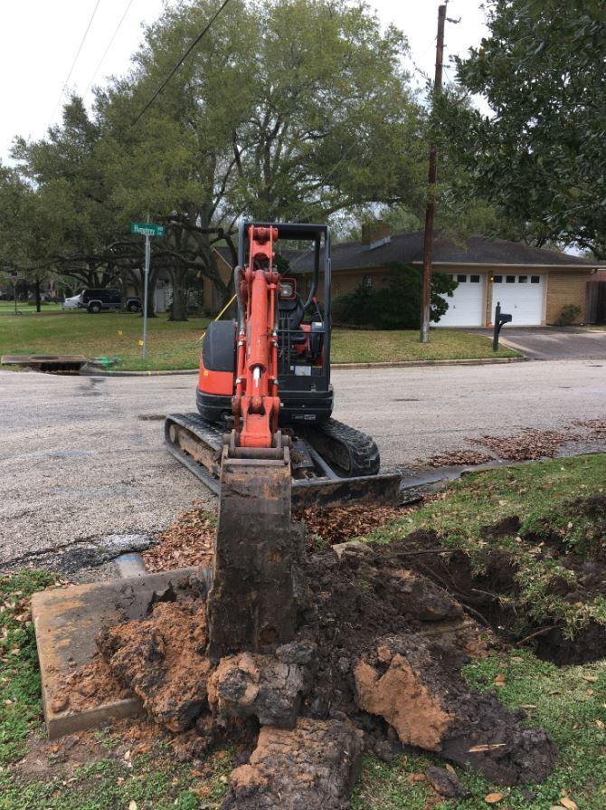 fiber build out in El Campo, TX