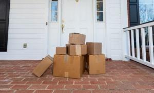 packages on doorstep inviting burglars